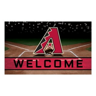 "MLB - Arizona Diamondbacks 18""x30"" Rubber Door Mat - Multi"