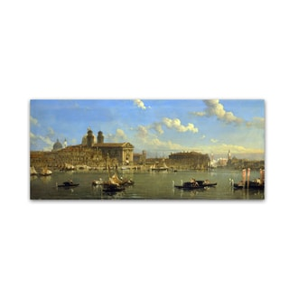David Roberts 'The Giudecca Venice' Canvas Art