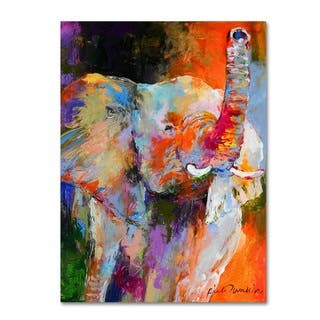 Richard Wallich 'Art Elephant' Canvas Art