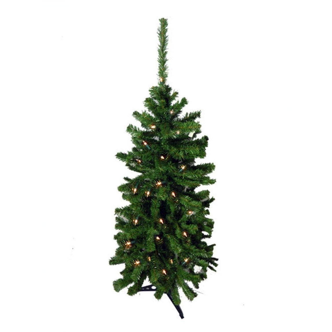 CMI 4.5' Pre-Lit Artificial Christmas Tree - Clear Lights...