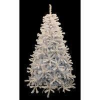 7.5' Pre-Lit White Cedar Pine Artificial Christmas Tree - Blue Lights