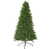 7' Pre-Lit Canadian Pine Artificial Christmas Tree - Clear Lights