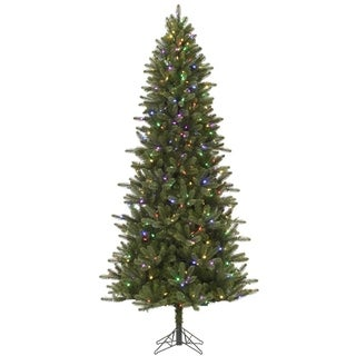 007f8326599 Shop 6.5  Pre-Lit Virginia Pine Artificial Christmas Tree - Color Changing  LED Lights - Free Shipping Today - Overstock - 16986973