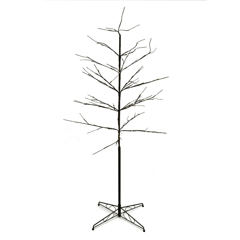 Penn 6' LED Lighted Color Combo Christmas Twig Tree Outdo...