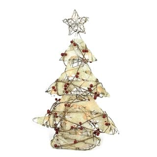 Rattan Artificial Christmas Trees For Less | Overstock.com