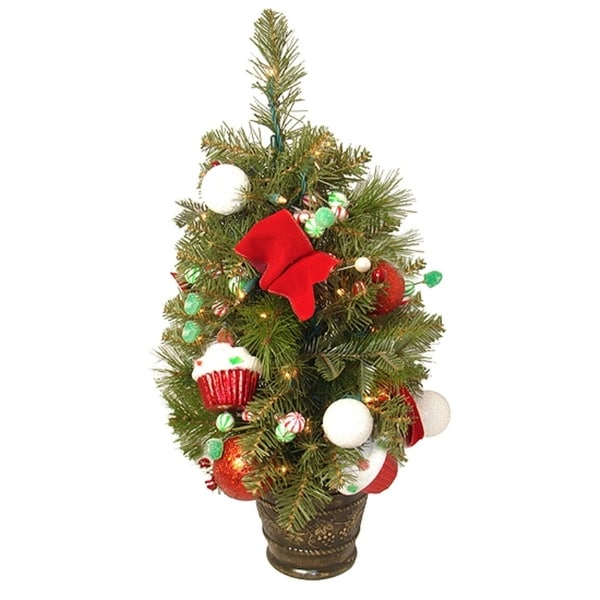 Shop 2' Candy Fantasy Pre-Lit And Decorated Artificial