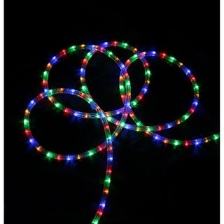 150' Commericial Grade Multi LED Indoor/Outdoor Christmas Rope Lights on a Spool