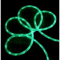 18' Green LED Indoor/Outdoor Christmas Rope Lights