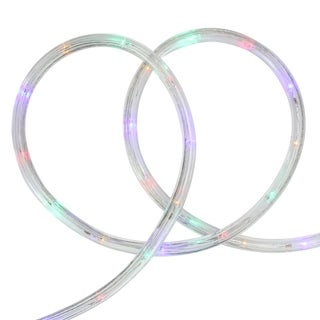 288' Commericial Grade Multi-Color LED Indoor/Outdoor Christmas Rope Lights on a Spool