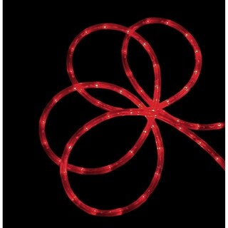 288' Commericial Grade Red LED Indoor/Outdoor Christmas Rope Lights on a Spool