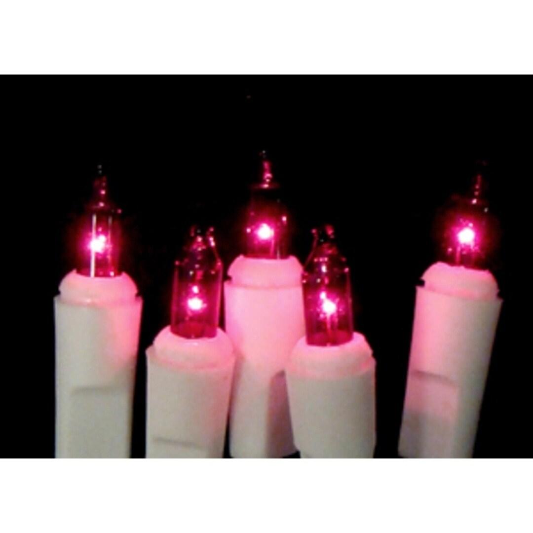 Sienna Set of 20 Battery Operated Purple Mini Christmas L...