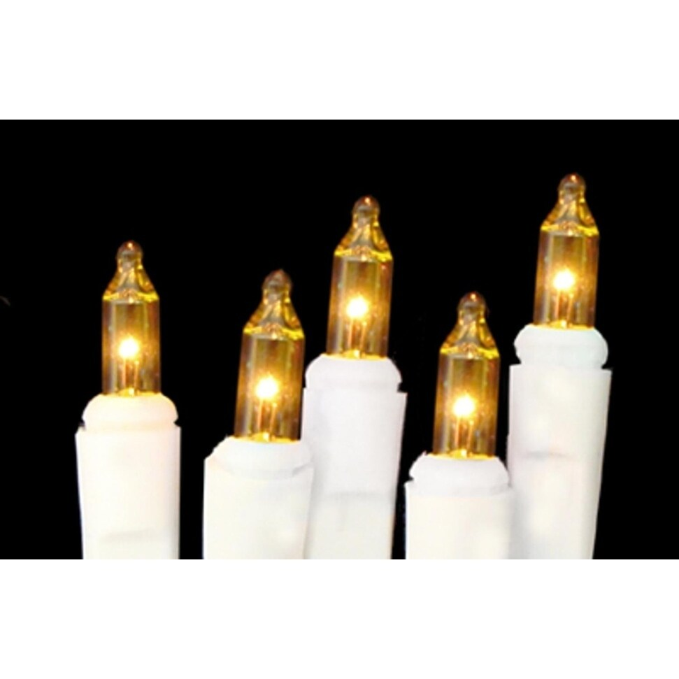 Sienna Set of 20 Battery Operated Gold Mini Christmas Lig...