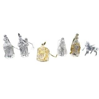 Club Pack of 432 Jesus, Wise Men. Mary, Joseph Nativity Christmas Ornaments