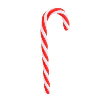 Pack of 12 Red and White Striped Candy Cane Christmas Ornaments 5.75""