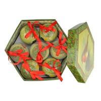 "14-Piece Nature's Birds Decoupage Shatterproof Christmas Ball Ornament Set 2.75"""