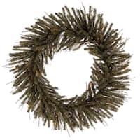 "36"" Vienna Twig Artificial Christmas Wreath - Unlit"