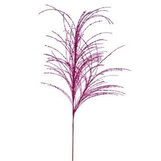 "29"" Decorative Pink Sparkle Berry Christmas Crafting Spray"
