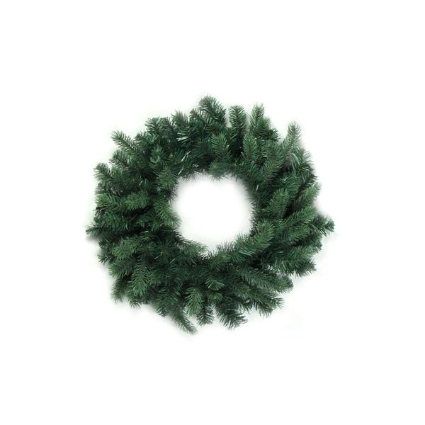 24 washington frasier fir artificial christmas wreath unlit - How To Decorate Artificial Christmas Wreath