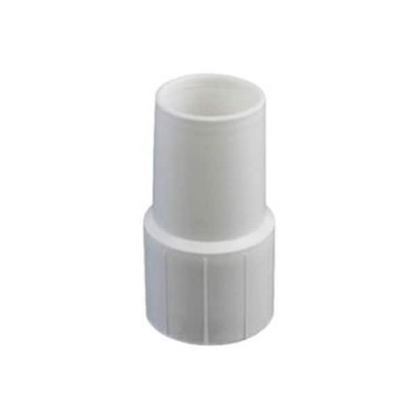 "4"" White Cuff for Swimming Pool or Spa 1.5"" Vacuum Hose"