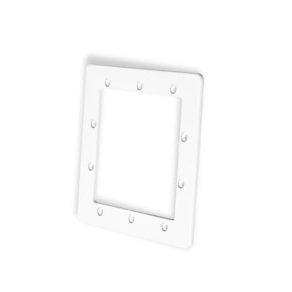 "8.25"" White Standard Swimming Pool or Spa Skimmer Face Plate"