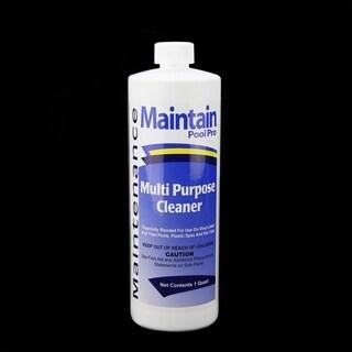 Maintain Pool Pro Maintenance Multi-Purpose Cleaner 1 Quart - White