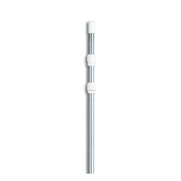 Silver Adjustable Swimming Pool Telescopic Pole for Vacuums & Skimmers 5-12'