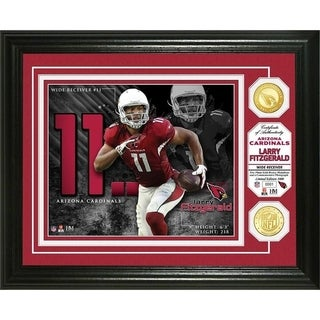 Larry Fitzgerald Bronze Coin Photo Mint - Multi-color