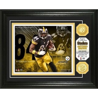 Antonio Brown Bronze Coin Photo Mint - Multi-color