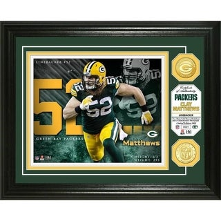 Clay Matthews Bronze Coin Photo Mint - Multi-color