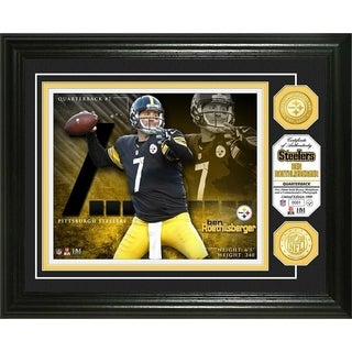 Ben Roethlisberger Bronze Coin Photo Mint - Multi-color