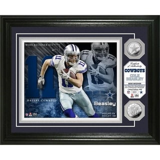 Cole Beasley Silver Coin Photo Mint - Multi-color
