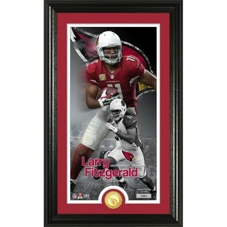 Larry Fitzgerald Supreme Bronze Coin Photo Mint - Multi-color