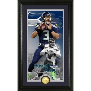 Russell Wilson Supreme Bronze Coin Photo Mint - Multi-color