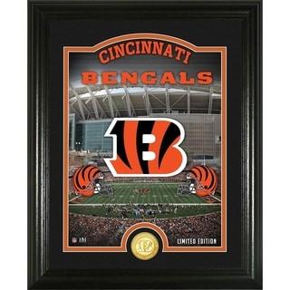 """Cincinnati Bengals """"Stadium"""" Bronze Coin Photo Mint - Multi-color"""