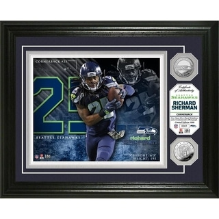 Richard Sherman Silver Coin Photo Mint - Multi-color
