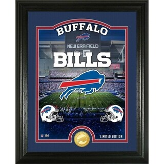 "Buffalo Bills ""Stadium"" Bronze Coin Photo Mint - Multi-color"