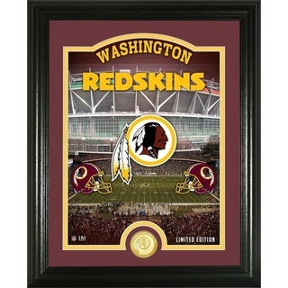 "Washington Redskins ""Stadium"" Bronze Coin Photo Mint - Multi-color"