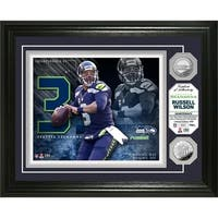 Russell Wilson Silver Coin Photo Mint - Multi-color