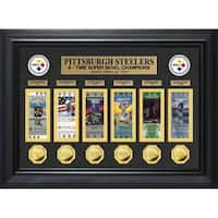 Pittsburgh Steelers 6-Time SB Champ Deluxe Ticket Collection