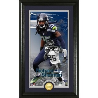 Richard Sherman Supreme Bronze Coin Photo Mint - Multi-color