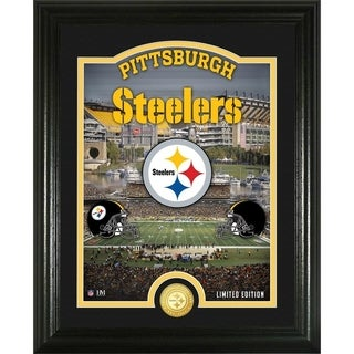 "Pittsburgh Steelers ""Stadium"" Bronze Coin Photo Mint - Multi-color"