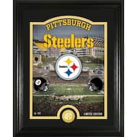 """Pittsburgh Steelers """"Stadium"""" Bronze Coin Photo Mint - Multi-color"""