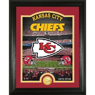 "Kansas City Chiefs ""Stadium"" Bronze Coin Photo Mint - Multi-color"