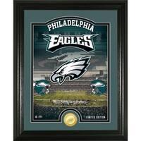"Philadelphia Eagles ""Stadium"" Bronze Coin Photo Mint - Multi-color"