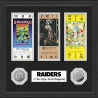Oakland Raiders Super Bowl Ticket Collection