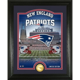 "New England Patriots ""Stadium"" Bronze Coin Photo Mint - Multi-color"