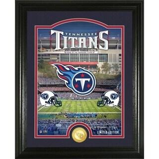 "Tennessee Titans ""Stadium"" Bronze Coin Photo Mint - Multi-color"