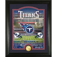 "Tennessee Titans ""Stadium"" Bronze Coin Photo Mint - Multi-color"