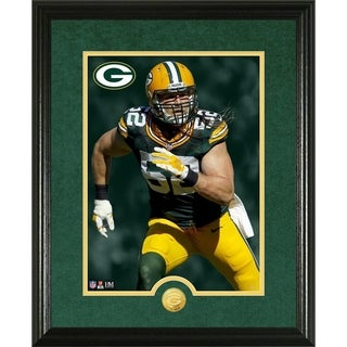Clay Matthews Canvas Art Gold Coin Photo Mint - Multi-color