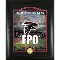"Atlanta Falcons ""Stadium"" Bronze Coin Photo Mint - Multi-color"
